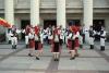 spectacol in fata primariei - Burgas