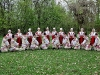 Grupul de dansatori al ''Ansamblului Doina Baraganului, Prahova, 2008