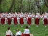 Grupul de dansatori al ''Ansamblului Doina Baraganului'', Prahova, 2008