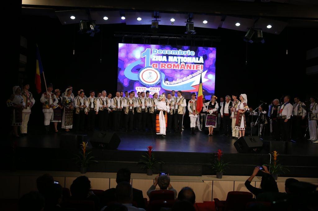 Spectacol-Sava Negrean Brudascu, ansamblul ''Doin Baraganului'' si Corala ''Sf MIna''
