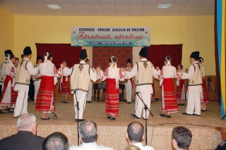 Secţiunea dansuri populare: Premiul 3 - Dans popular mixt Cazanesti