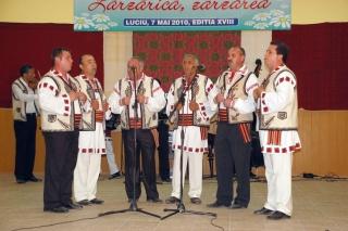 Secţiunea grupuri vocale: Premiul 3 - Grup vocal barbatesc Facaeni