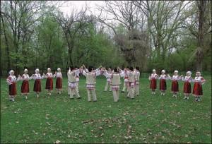 Ansamblul folcloric ''Doina Baraganului'' - dansatori