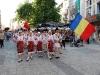 Parada Ansamblului ''Doina Baraganului'', Festivalul International de Folclor, Plovdiv, Bulgaria, 2008