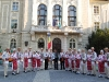 ans.''Doina Baraganului'' - in fata primariei din Plovdiv